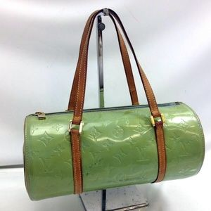 Auth Louis Vuitton Bedford Bag Vernis #929L81